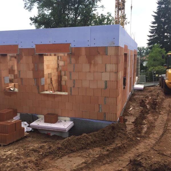 Neubau Einfamilienhaus in Forchheim (Am Weingartsteig) - Rohbau